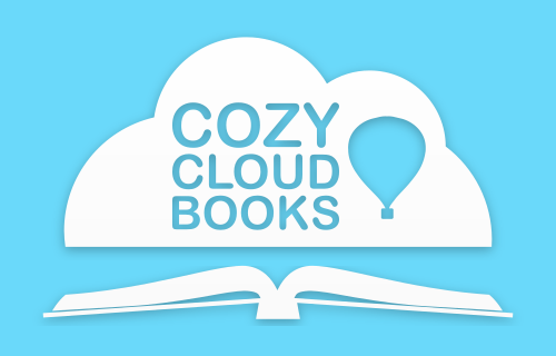 Cozy Cloud Books logo design